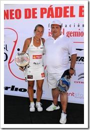 """Finaliza con éxito el I Torneo de Pádel Benéfico de la """"Fundación Isabel Gemio"""" en Madrid 2011"""