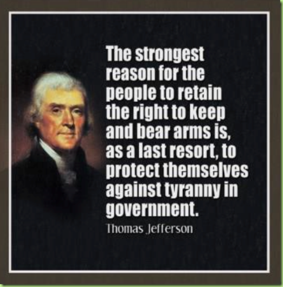 jefferson arms for tyranny