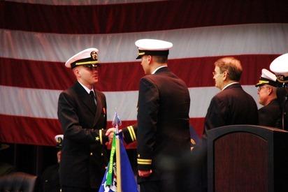 Mark Navy OCS Grad 14