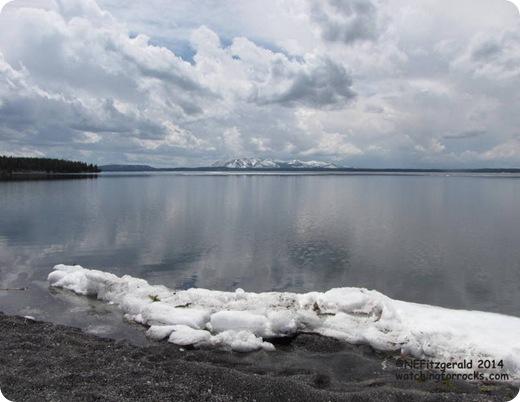 IceLingersOn YellowstoneLake