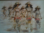 Aug 15 - Oil Painting, Vietnamese Girls