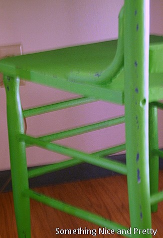 green chair 012
