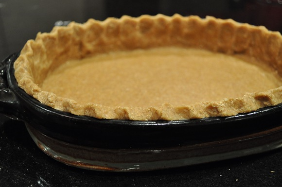 whole wheat pastry crust