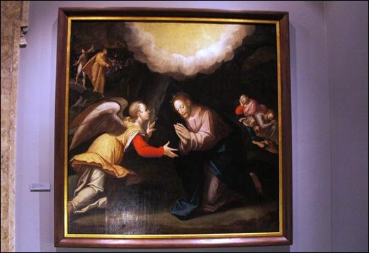 Gloria Ishizaka - museu de são roque - Oração de Cristo no Horto 1