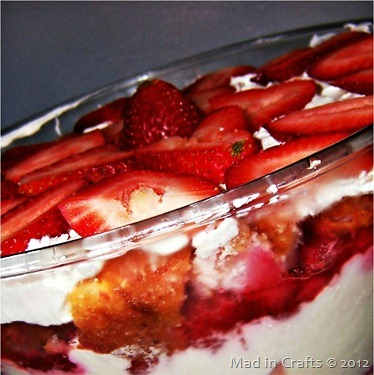 memorial day lemon berry trifle