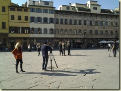 20121024 Filming a movie Santa Croce (Small)