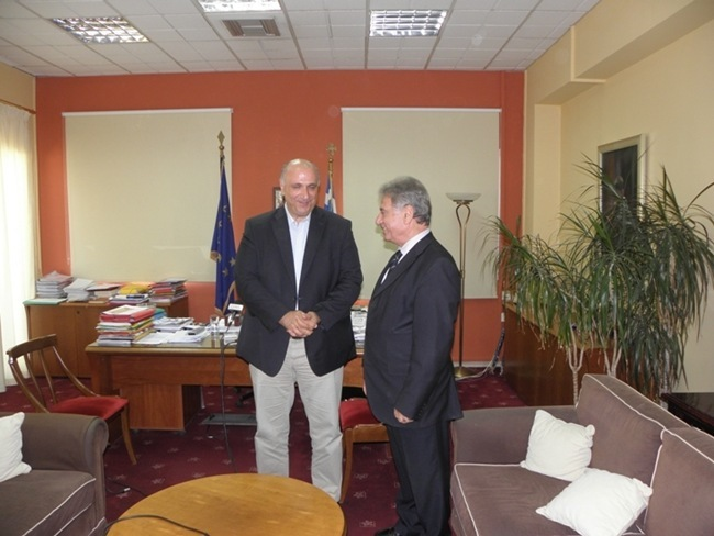 Συνάντηση Περιφερειάρχη με τον γ.γ Αποκεντρωμένης Διοίκησης Πελοποννήσου, Δυτικής Ελλάδας και Ιονίου