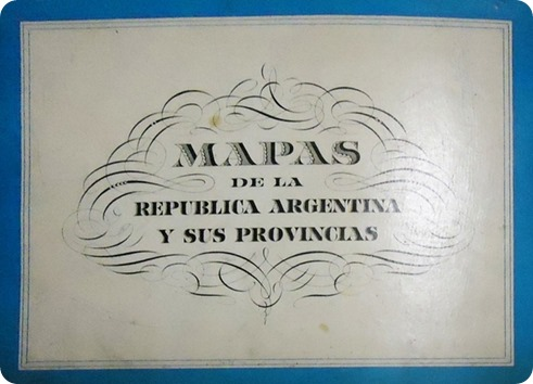 cartografía argentina
