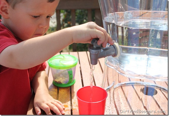 Water Dispenser, Water Play