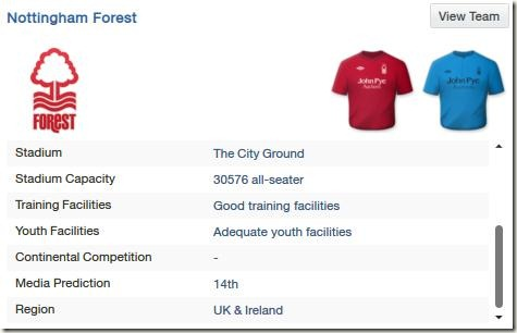 Forest in FM13
