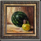 Mini Watermelon 8x8 Framed