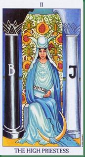 02-Priestess la papessa