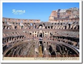 【Italy♦義大利】Rome 羅馬 - 羅馬競技場, 古羅馬遺跡, 真理之口, 手銬腳鐐聖彼得教堂, IL Chianti, 許願池, Barberini Plaza