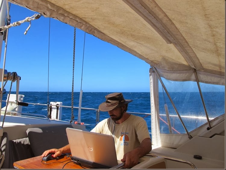 working from sailboat liveaboard cruising around the world