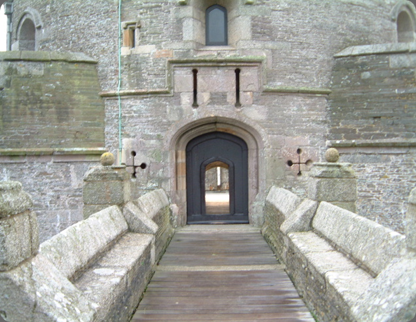 castle St Mawes arch