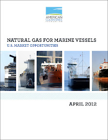 The American Clean Skies Foundation released a new study on how maritime vessels might be converted to natural gas 'and benefit from low prices and low emissions.' Natural Gas for Marine Vessels: U.S. Market Opportunities is by New England's M.J. Bradley & Associates.