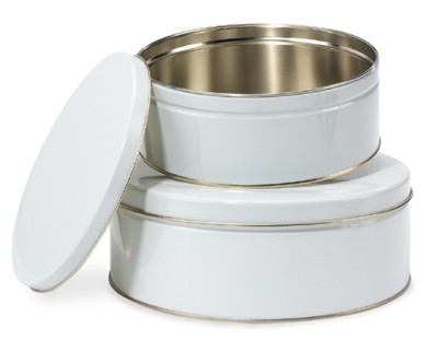 Simple and reliable cookie tins will never go out of fashion. Line these tins from The Container Store with some tissue paper and your desserts won't break during travel.