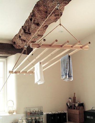 The chicest way to hang-dry clothes. (remodelista.com)