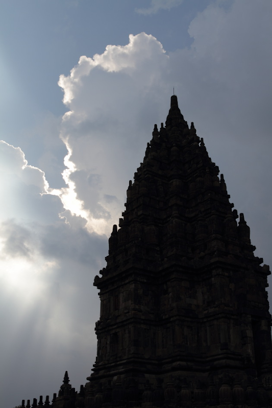 Mighty Visnu Temple in the Prambanan Temple Complex, Indonesia