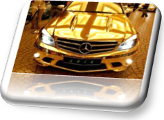 Gold Mercedes-2