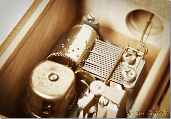 music box gears