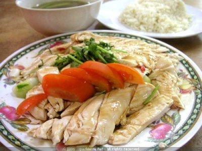 nasi ayam hailam