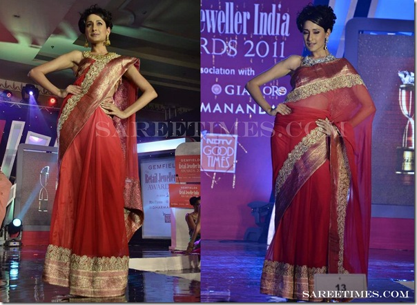 Shruti_Sancheti_Drape_Saree_Style