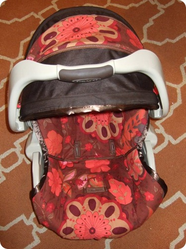 della's carseat