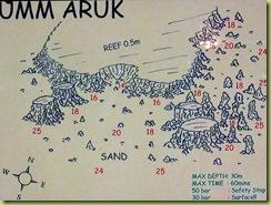 Umm Aruk Dive Plan