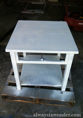 priming a table with KILZ (1)