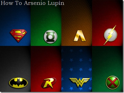 JLA Symbol Collage