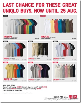 Uniqlo-Malaysia-August -Promotions-2011-EverydayOnSales-Warehouse-Sale-Promotion-Deal-Discount