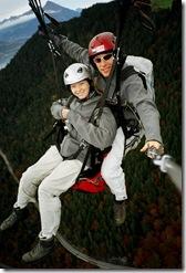 Bethany paragliding