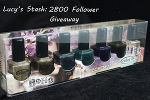 Follower appreciation giveaway color club