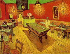 night cafe vangogh