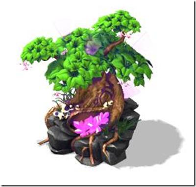 albero della foresta incantata