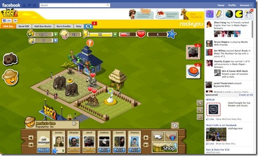 Facebook-oyun