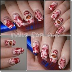 sexy vampire nails