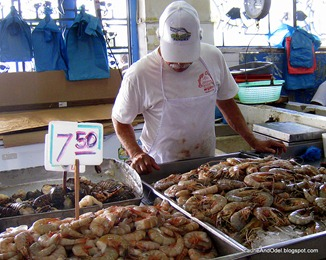 Fish market in Panama City