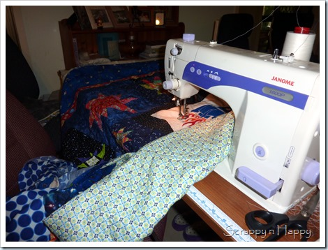 Quilting with Janome