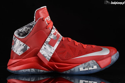 nike zoom soldier 6 gr ohio state camo 4 01 A Detailed Look at Nike LeBron Soldier VI Ohio State Camo