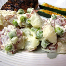 Creamy Pea & Potato Salad