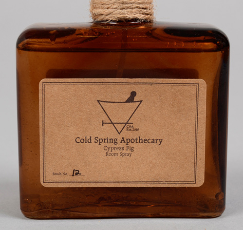 Cold Spring Apothecary Cypress Fig Room Spray. I'm sort of obsessed with this product. I love everything about it ranging from the amber glass bottle to the delicious and 100% natural fragrance it contains. Use this to brighten up any room in your home. www.coldspringapothecary.com