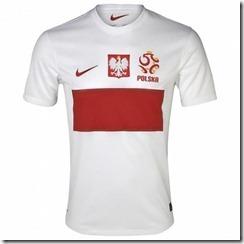 Polonia primera equipación