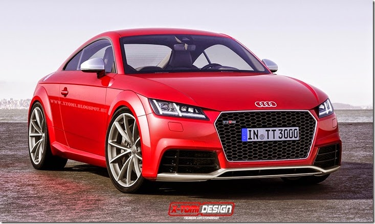 all cars nz 2014 audi tt rs design study. Black Bedroom Furniture Sets. Home Design Ideas