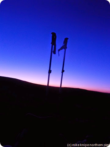 poles at dawn