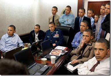 Obama Osama Team