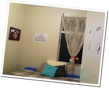início da decoração quarto da Thyeme