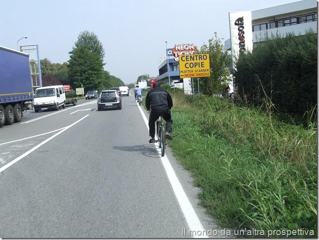 L'uso della bici