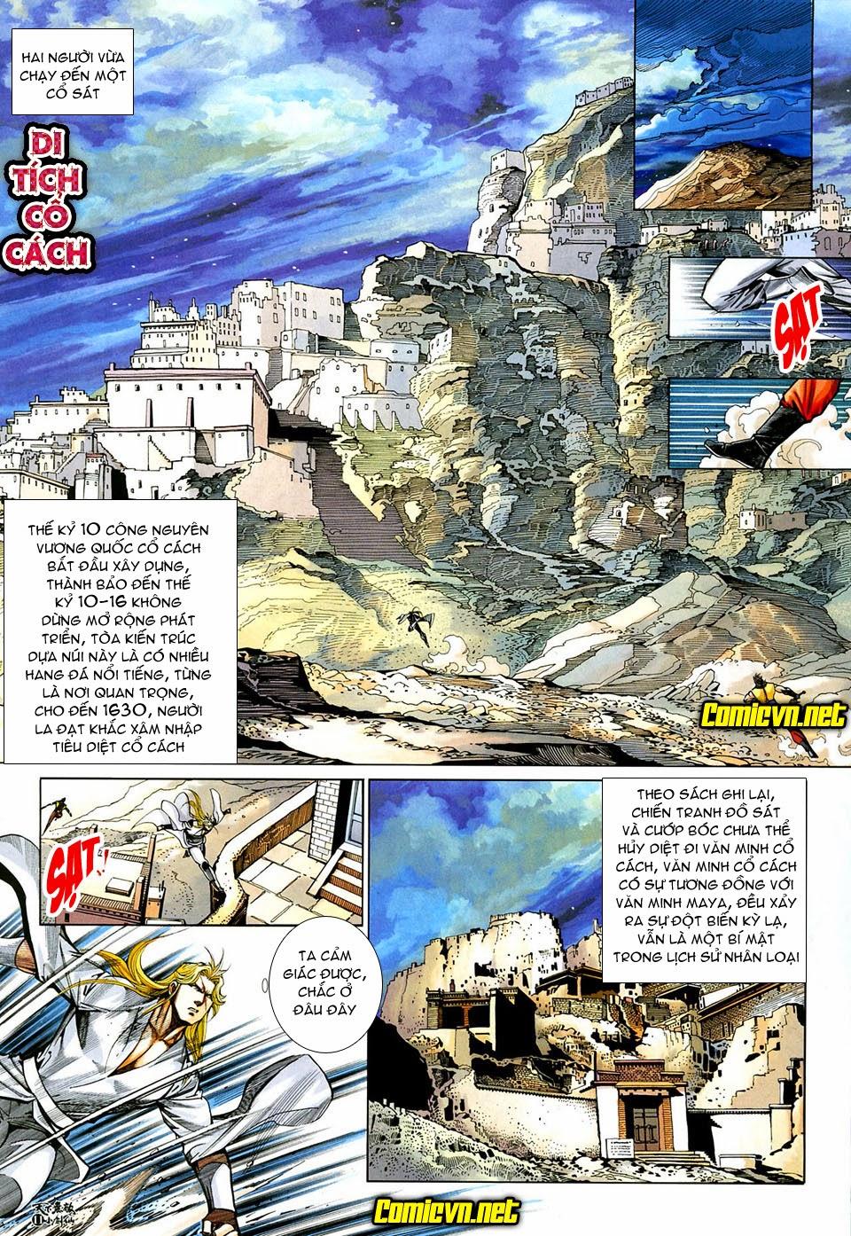 Thiên Hạ Vô Địch Tiểu Kiếm Tiên chap 32 - Trang 11
